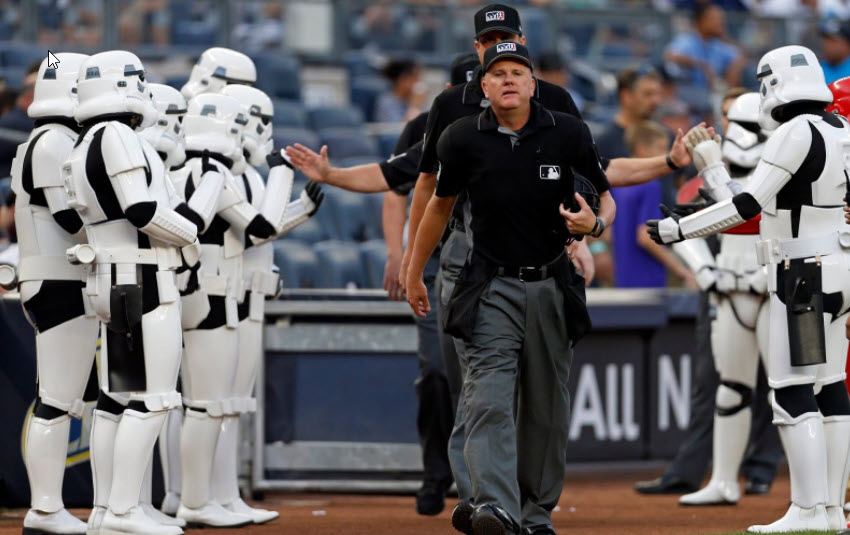 Mike Everitt, Retired MLB Crew Chief - #57